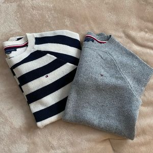 2 Tommy Hilfiger sweaters